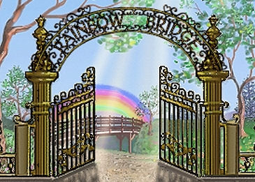 Rainbow Bridge Welcoming Gates