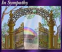 Rainbows Bridge Card